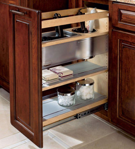 Vanity Base Pull-out Appliance Organizer