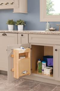 Sink Base Plastic Bag Door Storage Unit Kit