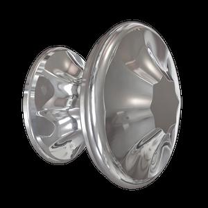 Polished Nickel Empire Knob