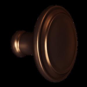 Dark Brushed Bronze Simplicity Knob