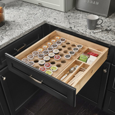 K Cup Organizer Drawer