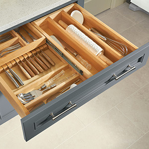 Tiered Combination Drawer
