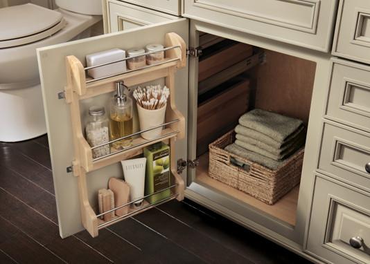 Vanity storage rack kit - Kraftmaid cabinet replacement parts ...