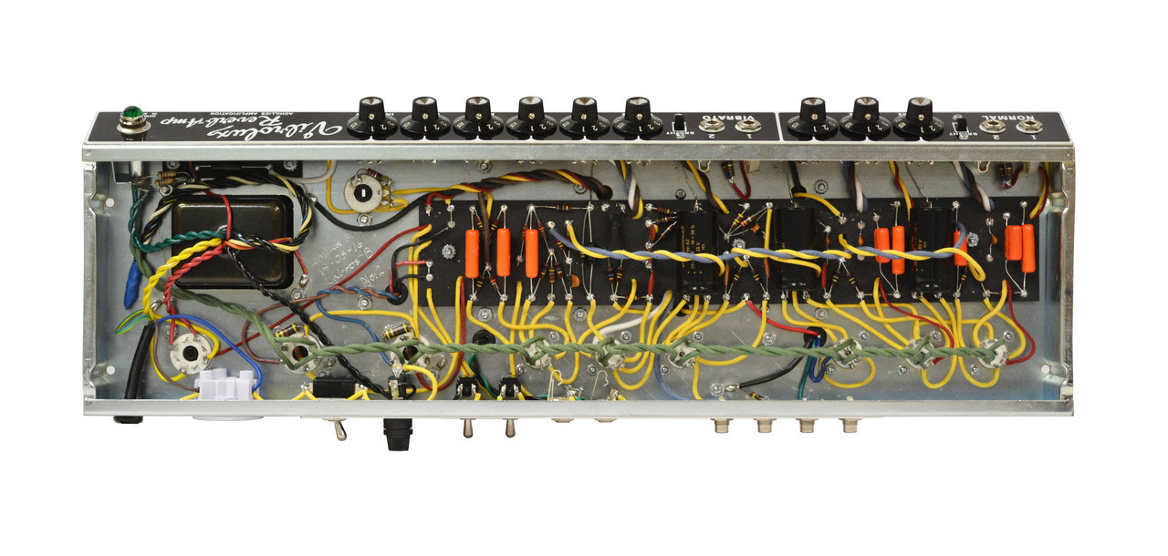 Blackface Vibrolux Reverb Hand Wired Chassis