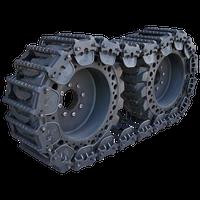 10 Inch Prowler Predator Steel OTT Tracks