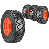 10x16.5 Ultra Guard MX Skid Steer Tire And Wheel Set