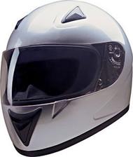 HCI 75 Full Face Helmet Silver