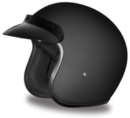 Daytona Cruiser Helmet DOT Dull Black