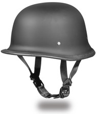 Daytona German Style DOT Helmet Dull Black