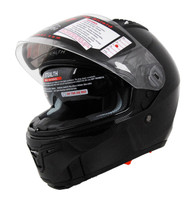 Vega Stealth F117 Full Face Helmet with Sunshield Black