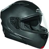 Vega Stealth Vertice Modular Helmet with Sunshield Grey Metallic
