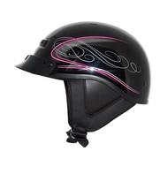 Zox Alto Custom Half Helmet Boulevard Pink