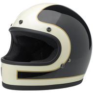Biltwell Gringo Helmet LE Tracker Vintage White Black