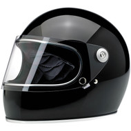 Biltwell Gringo S Full-Face Helmet Gloss Black