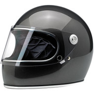 Biltwell Gringo S Full-Face Helmet Gloss Metallic Charcoal