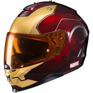 HJC IS-17 Marvel Iron Man MC-1 Helmet