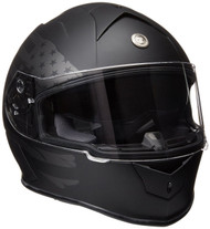Torc T14B Mako Flag Flat Black Bluetooth Helmet