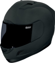 Icon Alliance Dark Helmet Matte Black