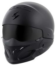 Scorpion Covert Solid Helmet Matte Black