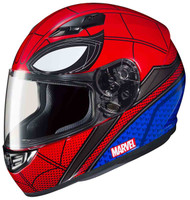 HJC CS-R3 Spiderman Helmet MC-1 Red