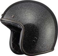 Fly Racing .38 Metal Flake Helmet Black