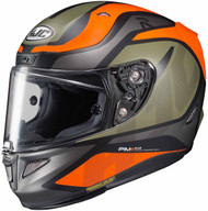 HJC RPHA 11 Pro Deroka Helmet MC-7SF Green/Orange