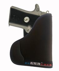 Colt 380 Auto Mustang Pocketlite w / Lasermax Ambidextrous orGUNizer Pocket Holster by Garrison Grip (C)