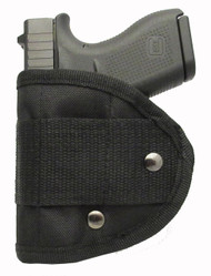 Inside Waistband Poly Sling Holster Fits Glock 43 G43 9mm IWB (M4)