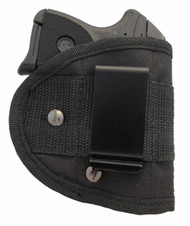 Inside Waistband Poly Sling Holster Fits Ruger LCP 380 with Lasermax (ML2) IWB