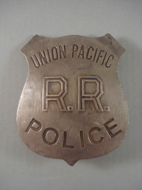 Union Pacific R.R. Police Western Badge