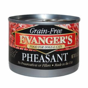 Evanger's Pheasant Grain Free Food 6oz