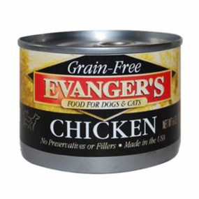 Evanger's Chicken Grain Free Food 6oz