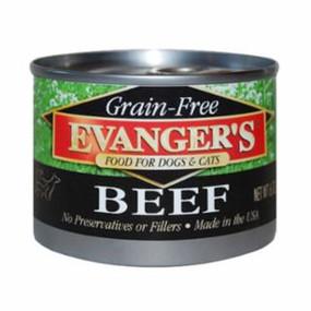 Evanger's Beef Grain Free Food