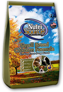 NutriSource Grain Free Small Breed Chicken Formula