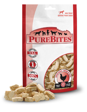 PureBites Freeze Dried Chicken Breast Treats 3 oz