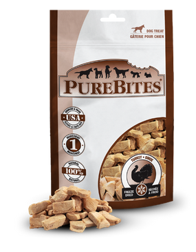 PureBites Freeze Dried Turkey Treats 2.47 oz