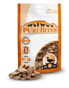 PureBites Freeze Dried Duck Treats 2.47 oz