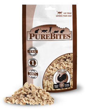 PureBites Freeze Dried Turkey Treats .49 oz