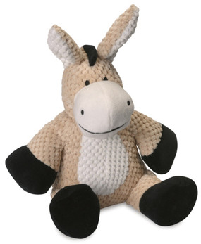 Quaker Pet Checkered Plush Donkey Small