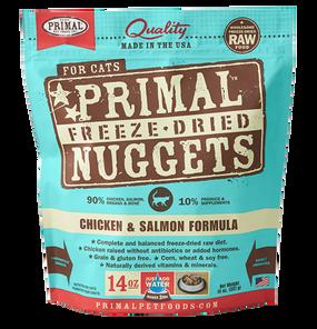 Primal Freeze-Dried Feline Chicken & Salmon Formula 14 oz