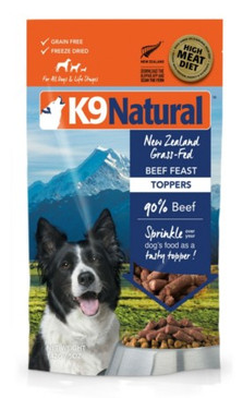 K9 Natural Beef Feast Topper 5 oz.