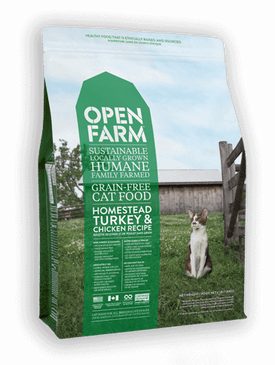 Open Farm Homestead Turkey & Chicken Feline Recipe