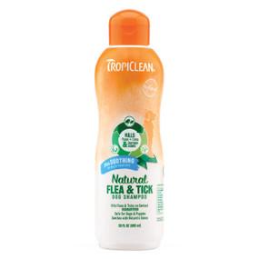 Tropiclean Natural Fla & Tick Shampoo 20 oz