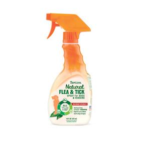 Tropiclean Natural Fla & Tick Dog & Bedding Spray 16 oz