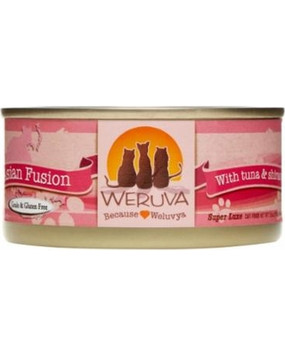 Weruva Asian Fusion – With Tuna & Shirasu in Aspic 3 oz