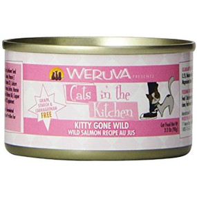Weruva Cats in the Kitchen Kitty Gone Wild - Wild Salmon in Au Jus 3 oz