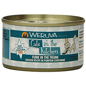 Weruva Cats in the Kitchen Funk in the Trunk- Chicken in Pumpkin Consomme 3 oz