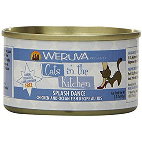 Weruva Cats in the Kitchen Splash Dance- Chicken & Ocan Fish in Au Jus 3 oz