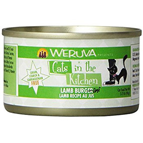 Weruva Cats in the Kitchen Lamb Bergini - Lamb in Au Jus 3 oz