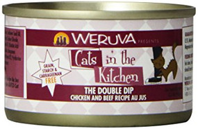 Weruva Cats in the Kitchen The Double Dip - Chicken & Beef in Au Jus 3 oz